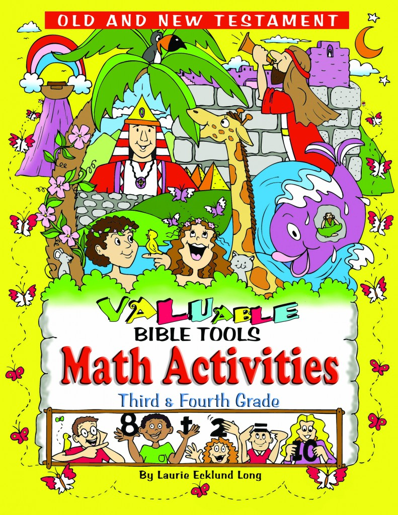 VALUable Bible Tools Math Activities Grades 3 & 4 (Download) - Bible  Activities, Bible Plays and Fitness for Church, Homeschool, Children and  Abused